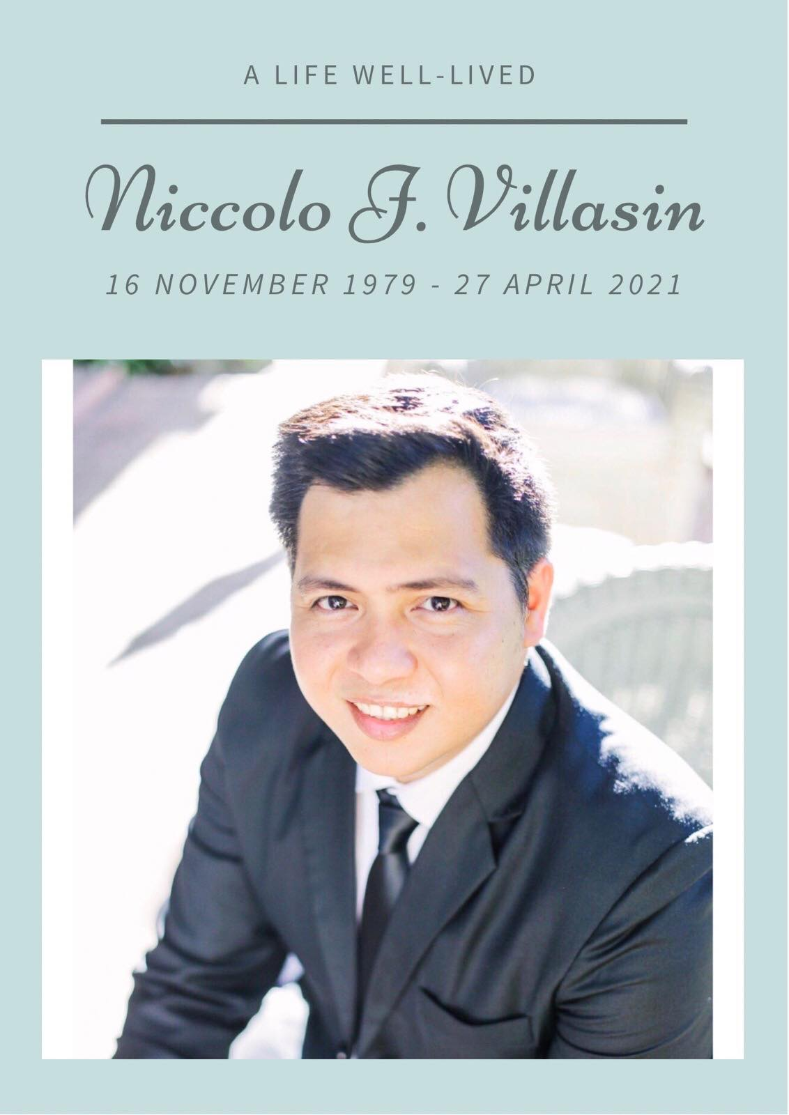 Atty. Niccolo J. Villasin joins the Creator